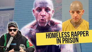 Download reacting to a Homeless Rapper with Face Tattoos in Prison Video