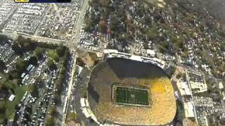 Download Parachuting Into Michigan Stadium with the 101st Airborne Division Video