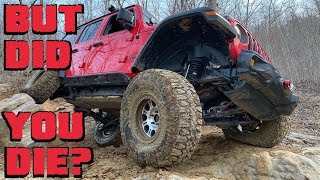 Download We Finally DAMAGE Our Jeep Wrangler JLUR at Crawling For Reid! Video