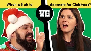 Download When is it ok to Decorate for Christmas? - Back Porch Bickerin' Video