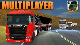 Download Grand Truck Simulator Multiplayer - MEGA COMBOIO + ACIDENTE! Video