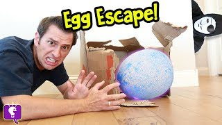 Download Giant NEST Gone MISSING! Game Trixster in HobbyGuy House with Mystery Egg by HobbyKidsTV Video