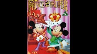 Download Digitized opening to The Prince and the Pauper (VHS UK) Video