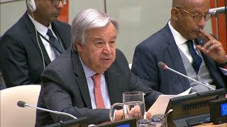 Download António Guterres (Secretary-General) at Africa Dialogue Series 2018 Video