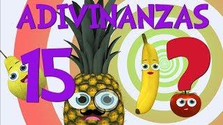 Download Adivinar Jugando con las 15 Adivinanzas y acertijos de Frutas Video para niños Video
