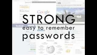 Download How to Create Strong Easy to Remember Passwords Video