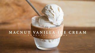 Download Macnut Vanilla Ice Cream (vegan) ☆ マカダミアナッツバニラアイスクリームの作り方 Video