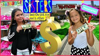 Download THE $20 OUTFIT CHALLENGE ″ SISTER BUY OUTFITS FOR EACH OTHER ″ ALISSON&EMILY Video