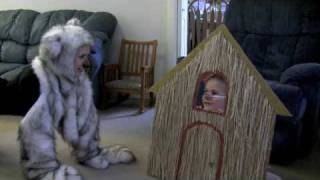 Download Three Little Pigs and the Big Bad Wolf - BEST!!! WONDERFUL CHILDREN'S VIDEO!! Video