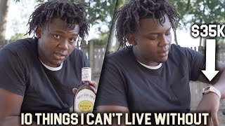 Download 10 Things 6'7 270lb Ty'Rion Denson Can't Live Without | HJ Video