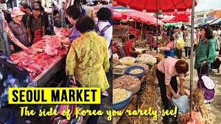 Download Gyeongdong Market in Seoul, South Korea Video