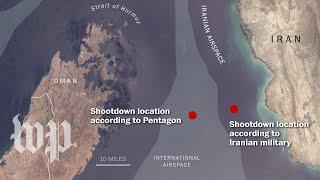 Download Where was the U.S. drone when Iran shot it down? Video