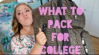 Download What To (and NOT To) Bring to College! | College Survival Guide Video