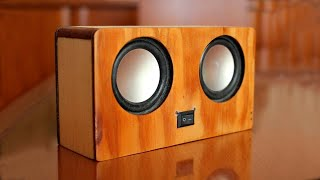 Building Bluetooth Speaker with Wooden Makeup Box Free