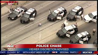 Download GRAPHIC ENDING To Police Chase in California Video