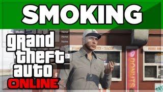 Download GTA 5 ONLINE - ″SMOKING″ HOW TO SMOKE Video
