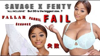 Download SAVAGE X FENTY by Rihanna BRA/LINGERIE TRY ON FAIL! | VINTYNELLIE Video