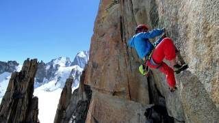 Download Voie Petit 8b, 450m Chamonix, France Video