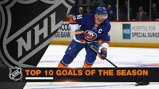Download Top 10 Goals of the 2017-18 Regular Season Video