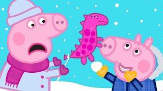 Download Peppa Pig English Episodes 🎄 Visiting Grandpa Pig and Grandma Pig 🎄 Peppa Pig Christmas Video