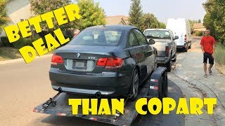 Download My Bro Stole this BMW 335i from IAAI! **Way better deal than Copart** Video
