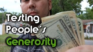 Download Testing People's Generosity - Honesty Money Experiment Video