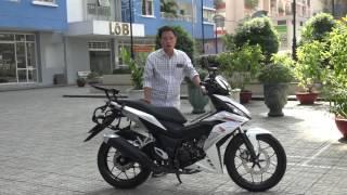 Download Xe.Tinhte.vn | Bọc lại yên kiểu Sonic cho Honda WINNER; êm hơn, giá 400k Video