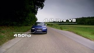 Download Audi RS 4 Avant Test Drive - Fifth Gear Video
