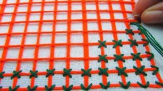 Download Hand Embroidery,Bangladeshi Nakshi Katha Drawing and stitching Tutorial,Nakshi Kantha Video