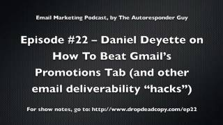 Download Daniel Deyette on How To Beat Gmail's Promotions Tab Video