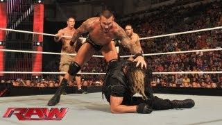 Download John Cena, Daniel Bryan & Randy Orton vs. The Shield: Raw, August 5, 2013 Video