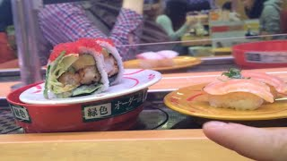 Download How to order, eat and pay for sushi in Japan (at a conveyer belt sushi restaurant) Video