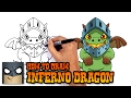Download How to Draw Inferno Dragon | Clash Royale Video