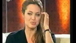 Download Angelina Jolie German Talk Show Interview: Wetten dass... Part 1 Video