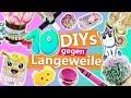 Download 10 DIYs gegen LANGEWEILE | kreative Ideen gegen Langeweile für Zuhause | einfache Bastelideen Video