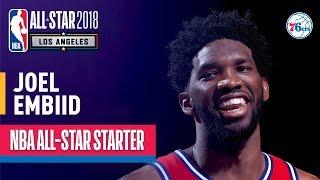 Download Joel Embiid 2018 All-Star Starter | Best Highlights 2017-2018 Video