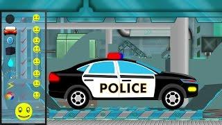 Download Police Car | Police Car Repair | Car Garage | Car Repair | kids videos Video