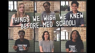 Download Things We Wish We Knew Before Med School! Video