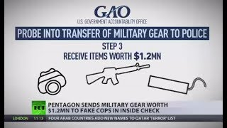 Download Gear Giveaway: Pentagon sends military supplies worth $1.2mn to fake cops in inside check Video