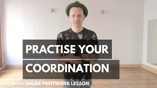 Download Salsa Footwork Lesson | Simple COORDINATION excersise Video