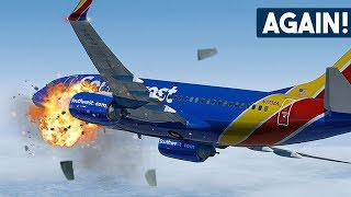 Download Boeing 737 Suffers ANOTHER Catastrophic Engine Failure After Takeoff | Southwest Airlines 3472 Video