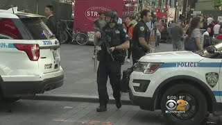 Download NYPD Out In Force After London Terror Attack Video