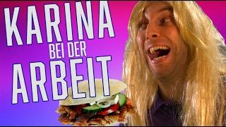 Download Karina bei der Arbeit - Kackfreche Dönerverkäuferin! Video