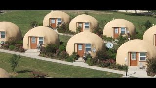 Download Tiny House is a Super Efficient Monolithic Dome Video