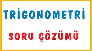 Download TRİGONOMETRİ SORU ÇÖZÜMÜ   ŞENOL HOCA Video