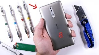 Download Nokia 8 Durability Test - Scratch, BURN and Bend Tested! Video