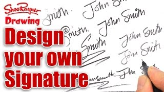 Download How to design your own amazing signature Video