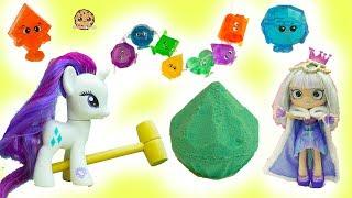 Download Surprise Diamond Dig It - Rainbow Gemlins Gemstones with My Little Pony + Shoppies Gemma Stone Video