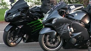 Download Ninja battles Hayabusa-drag racing,motorbikes details,top speed and acceleration Video
