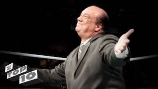 Download Paul Heyman's greatest insults: WWE Top 10 Video
